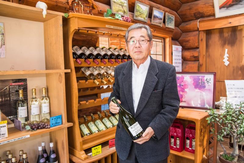 取材させていただきました敷島醸造 代表取締役社長の保延実さん
