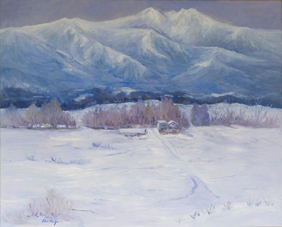 《雪景色》 祢津 里江